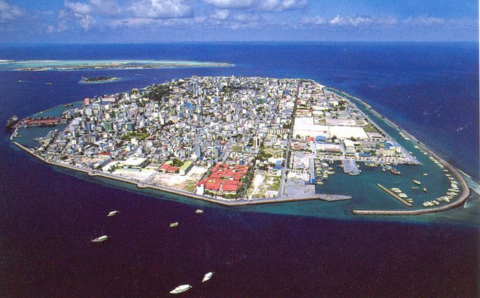 Maledivská metropole Malé