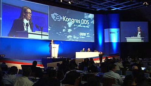 Odpolední rozprava na kongresu ODS