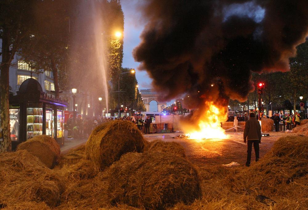 Demonstrace zemědělců