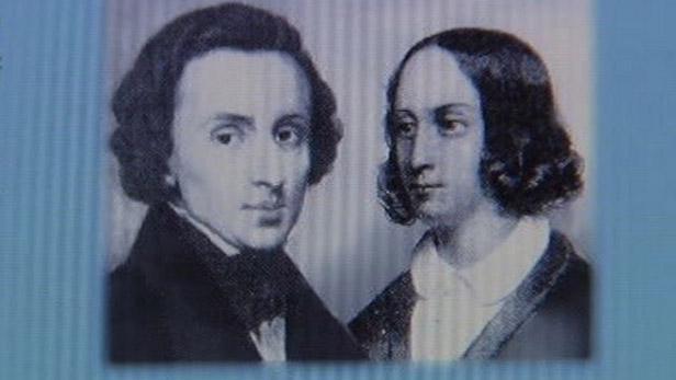 F. Chopin a G. Sandová