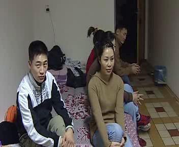 Zahraniční dělníci na ubytovně
