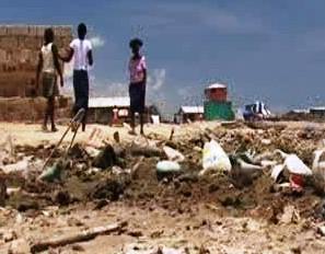 Haiti po přechodu hurikánu