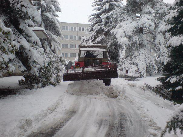 Liberec zasypal sníh