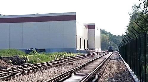 Logistické centrum v Pardubicích