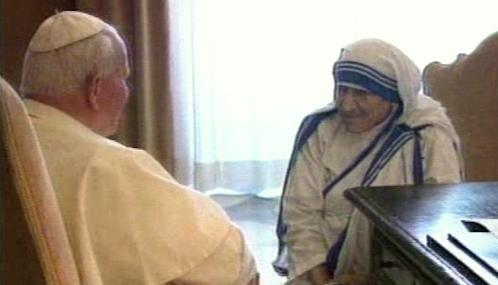 Jan Pavel II. a Matka Tereza