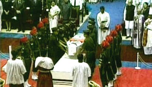 Pohřeb Matky Terezy