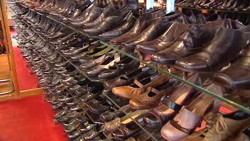 Prodejna obuvi