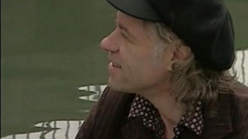 Bob Geldof na archivní fotografii