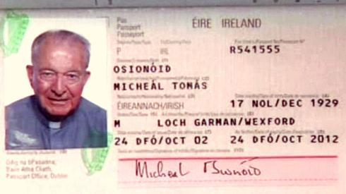 Průkaz Michaela O\'Sionóida