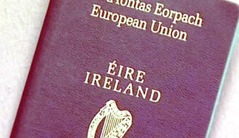 Irský cestovní pas