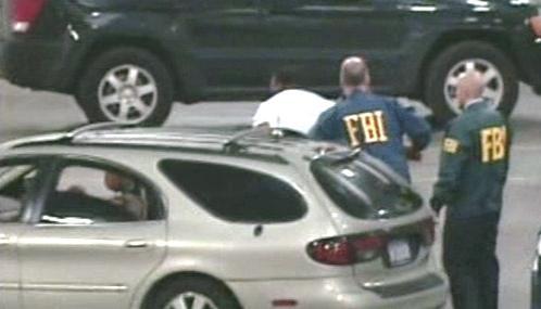 Muž zatčený FBI
