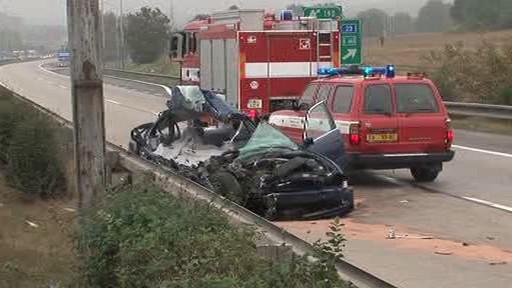 Tragická nehoda na dálnici D1