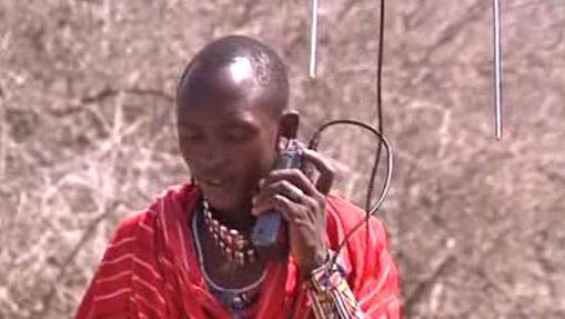 Masaj při své nové práci
