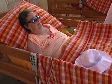 Seniorka v Hospici