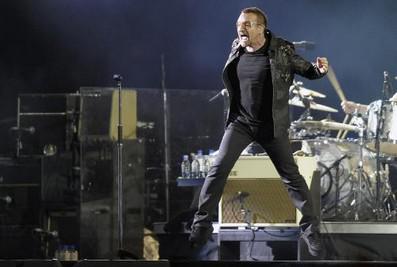Frontman kapely U2 Bono