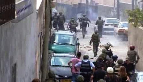 Izraelská policie zasahuje proti demonstraci Palestinců