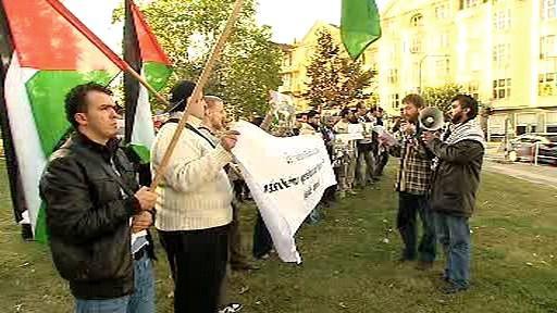 Palestinský protest