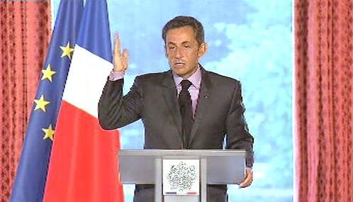 Sarkozy: \