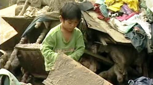 Následky tajfunu Parma na Filipínách