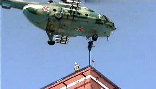 Ruský vojenský vrtulník