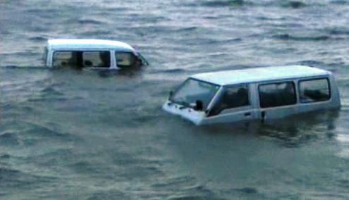 Tajfun Melor způsobil v Japonsku povodně