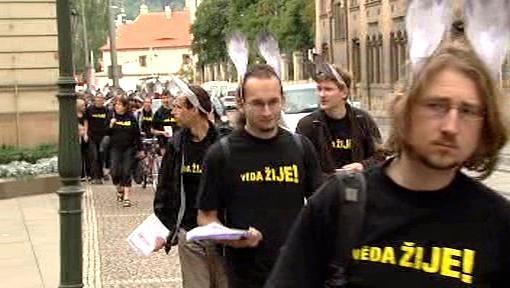 Protest akademiků