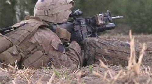 Americká námořní pěchota v Afghánistánu