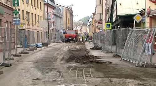 Rozkopaná ulice
