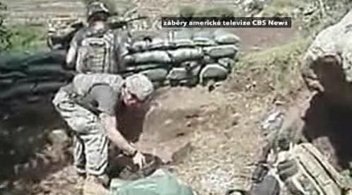 Záběry americké CBS