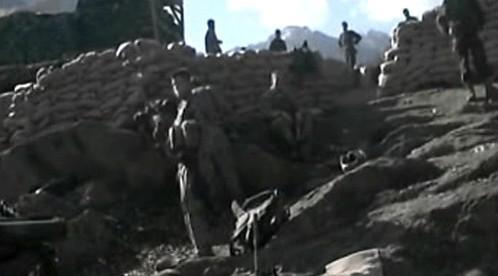 Američané v afghánském údolí Wanat