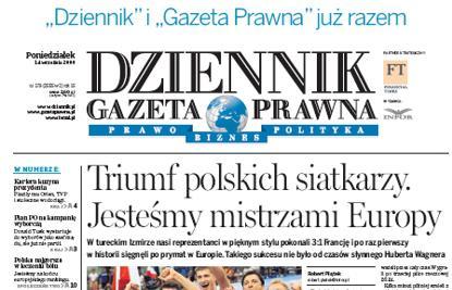 Polský list Dziennik Gazeta Prawna