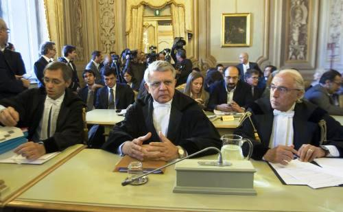 Niccolo Ghedini, Piero Longo a Gaetano Pecorella