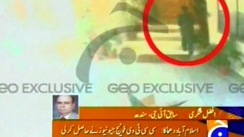 Atentátník z Islámábádu na záběrech průmyslové kamery