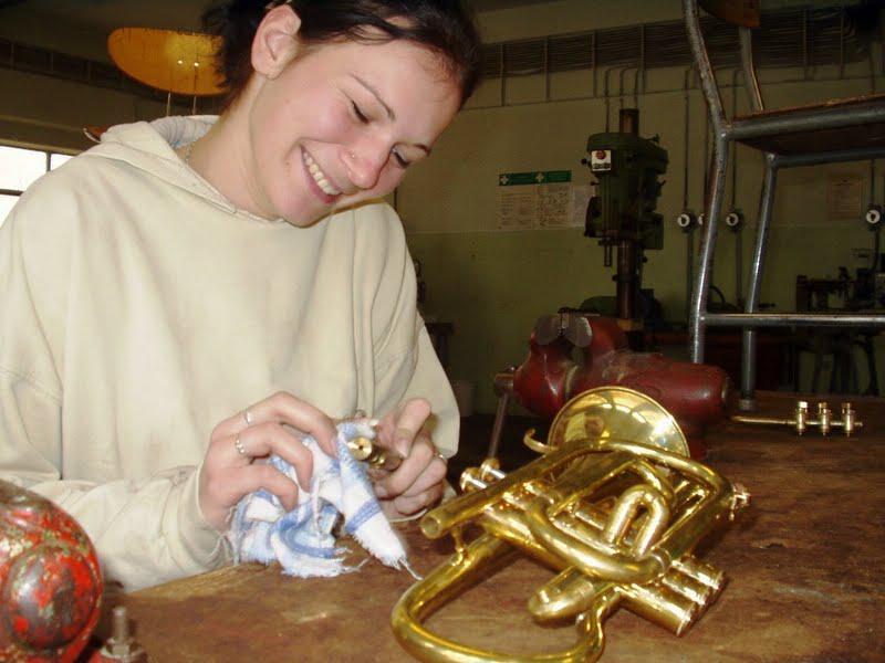 Výroba hudebních nástrojů