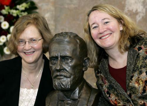 Elizabeth Blackburnová a Carol Greiderová