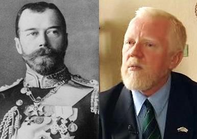 Car Mikuláš II. a Oleg Filatov