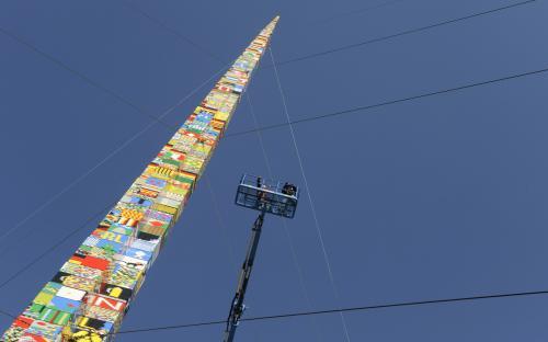 Nejvyšší věž z Lega na světě