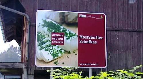 Kampaň za tradiční a místní potraviny v Rakousku