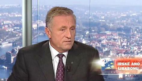 Mirek Topolánek v OVM