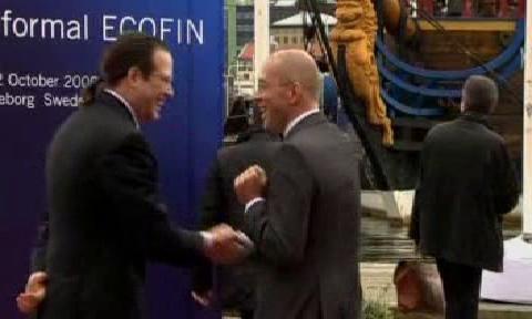 Ministři financí EU se sešli v Göteborgu