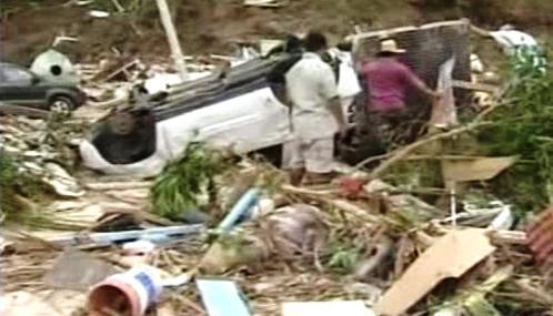 Následky tsunami na Samoi