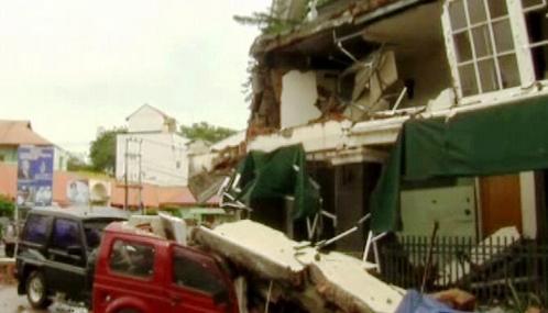 Zemětřesení na Sumatře