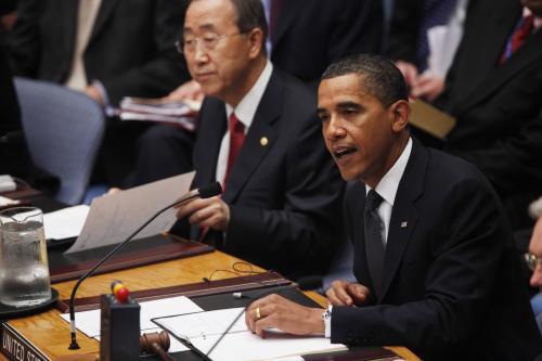 Barack Obama předsedá Rabě bezpečnosti OSN