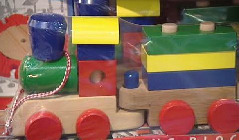 Dřevěná hračka