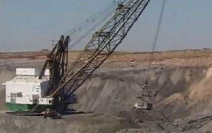 Těžba železné rudy