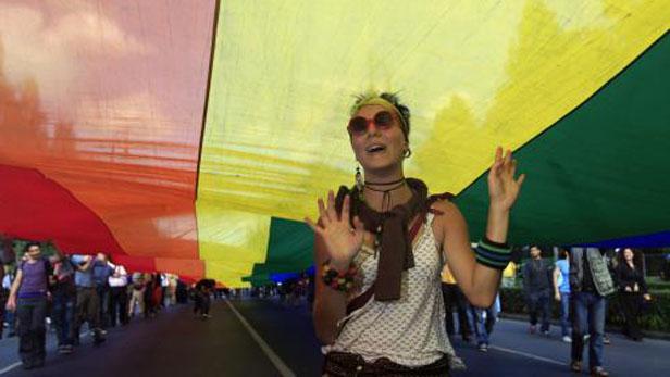 Pochod gayů a lesbiček