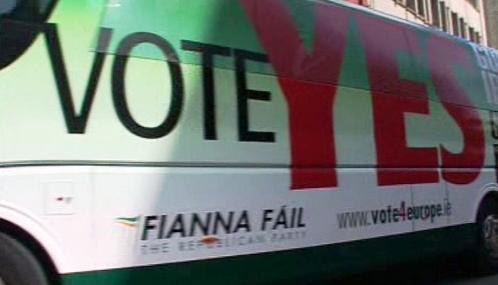 Irská kampaň před referendem o Lisabonu