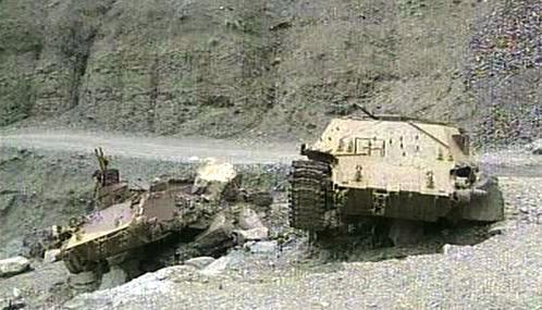 Následky bojů v Afghánistánu