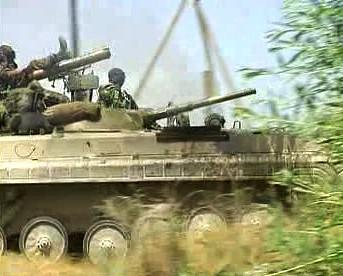 Vojáci v rusko-gruzínském konfliktu