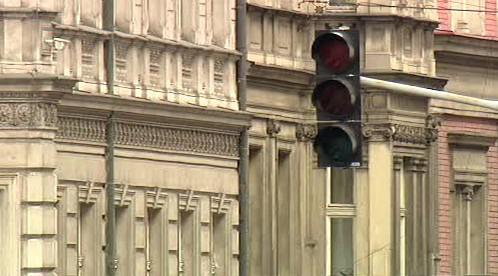 Nefungující semafor